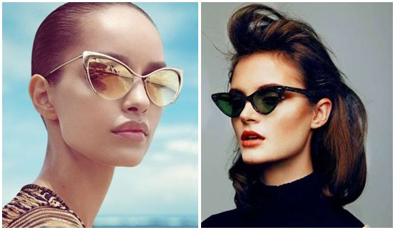 Cat-eye sunglasses - Now and Then trend!