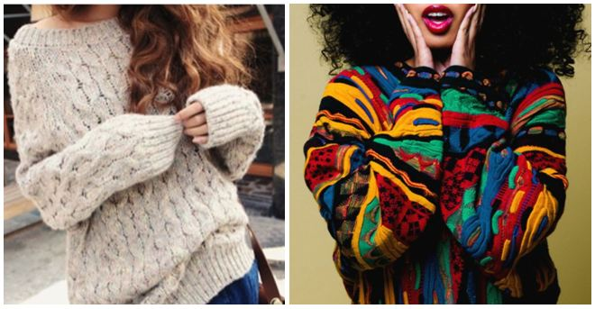 Now & Then oversized sweatshirts!